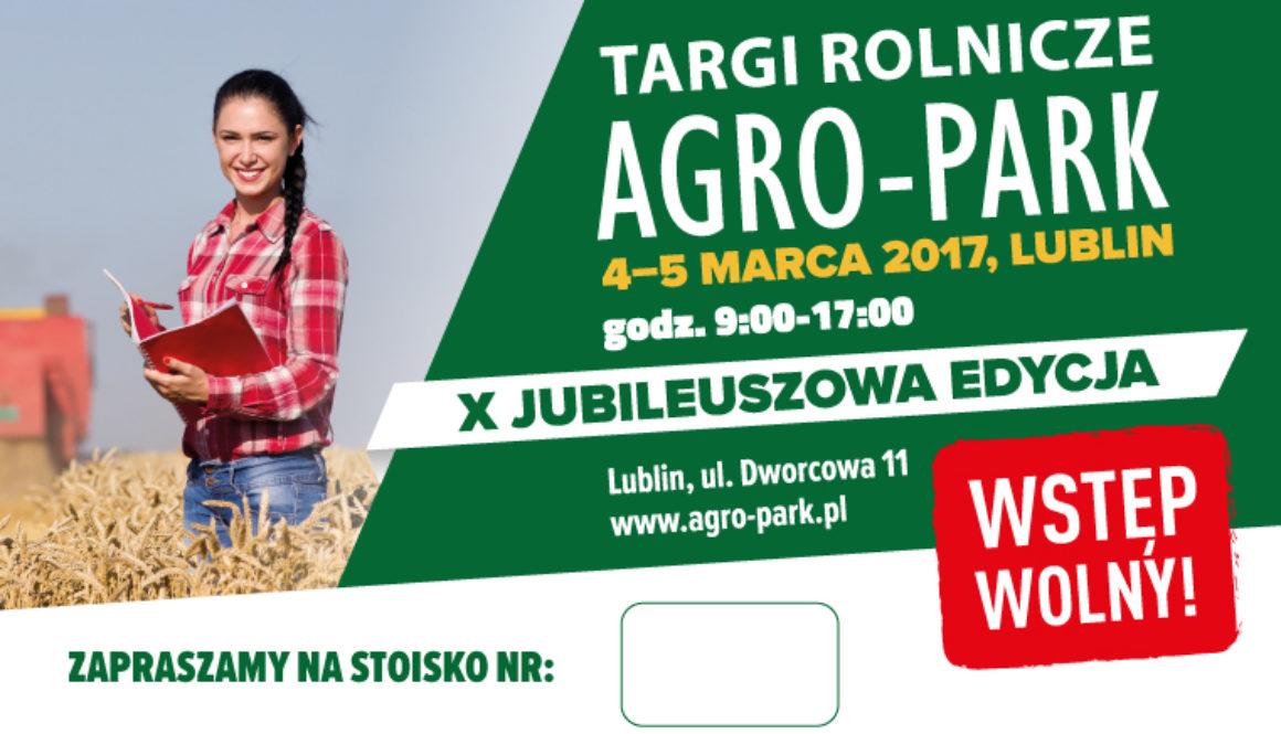 AGRO PARK 2017 stoisko nr 5